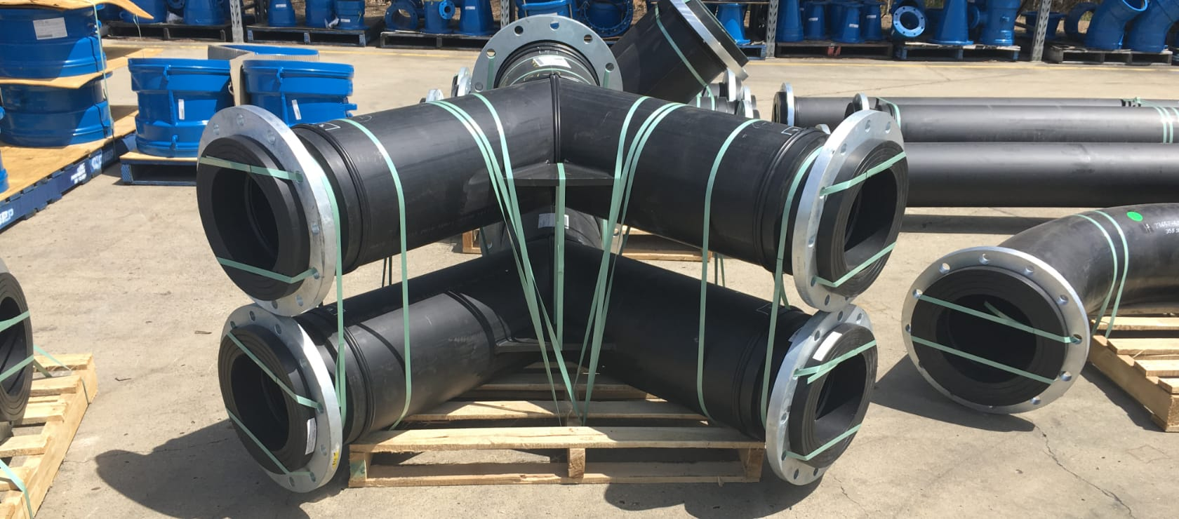 Iplex fabricated spools for gold mines 2
