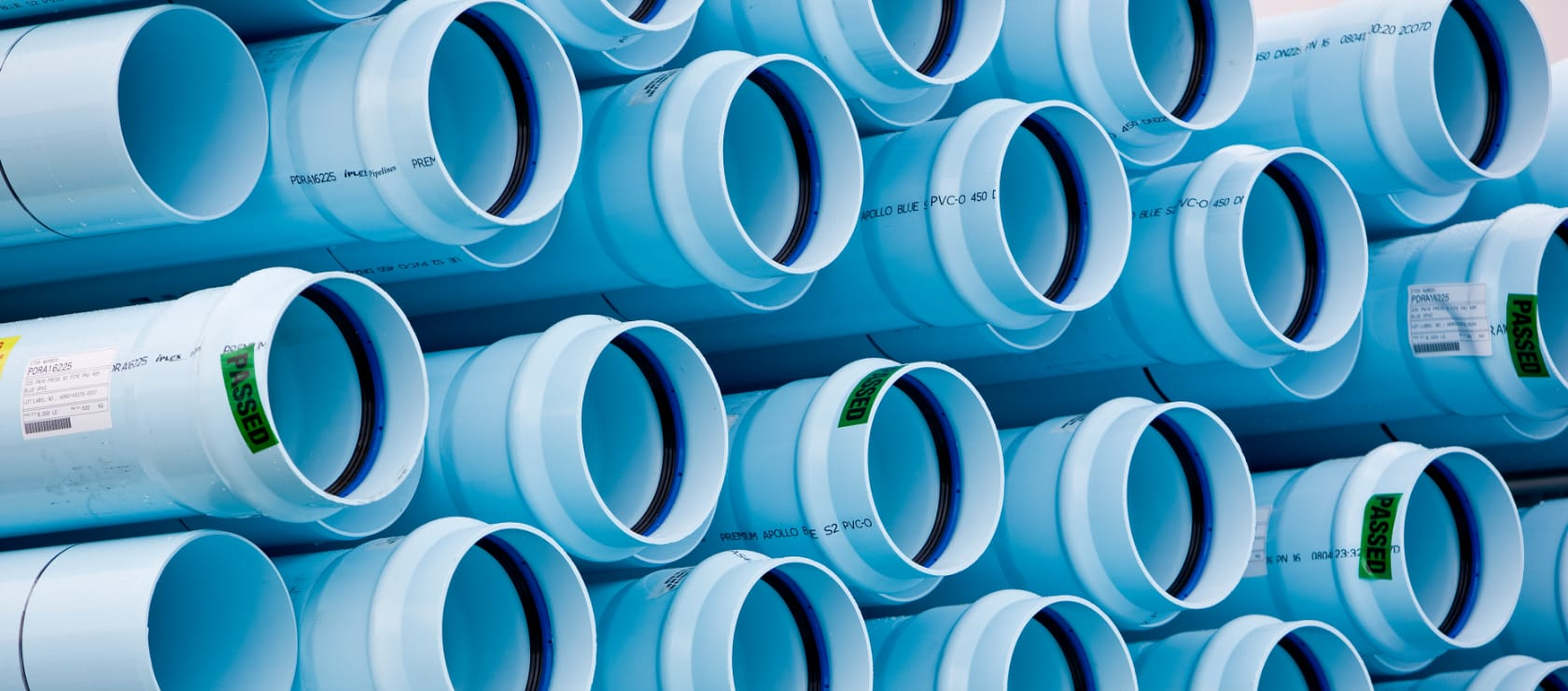 Supplying one of the largest PVC-O pipelines in the world